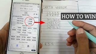 LOTTERY CHARTS | formula cara buat nombor! | 4D TOTO | MAGNUM DAMACAI