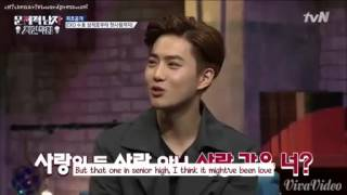 [EXO]EXO SUHO TALKS ABOUT HIS EXGIRLFRIEND(ENGSUB)