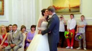 Свадьба Екатерины и Романа. Макияж и прическа невесты: Ульяна Старобинская (11.09.13)