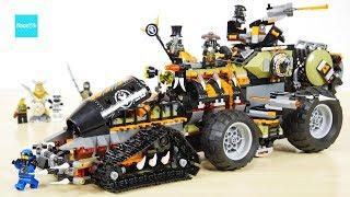 レゴ ニンジャゴー ハンティング・デスストライカー 70654 セット説明 10:19~ / LEGO Ninjago Dieselnaut Build & Review