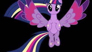 Мой маленький пони на русском радужная сила Сумеречной Искорки / MLP rainbow power Twilight Sparkle