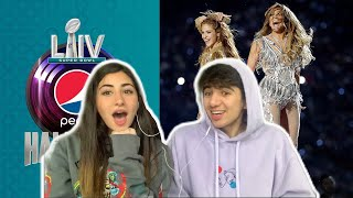 Shakira & JLo are QUEENS || SUPER BOWL HALFTIME SHOW REACTION!