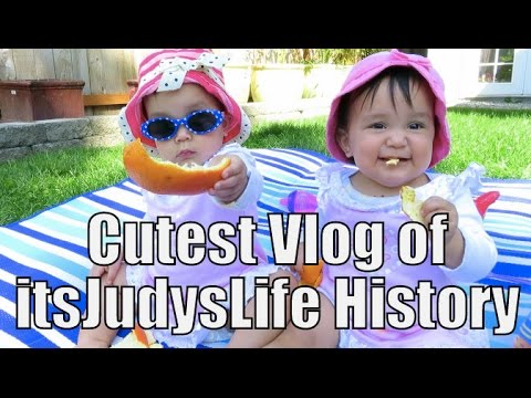 CUTEST Vlog of ItsJudysLife History!- April 20, 2015
