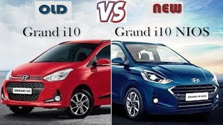 2017 Hyundai Grand i10 vs 2019 Grand i10 Nios | Comparison | The Difference Between Old & New