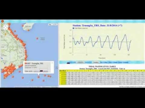 Tidal Water Level Program by ThoitietNet (#1)