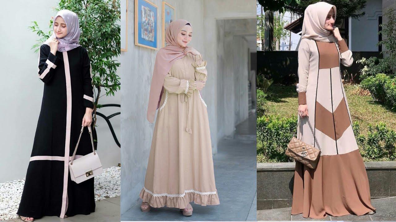 8 Model Baju Gamis Terbaru 8 Wanita Berhijab Terbaru Cocok Untuk  Lebaran Harga 8ribuan