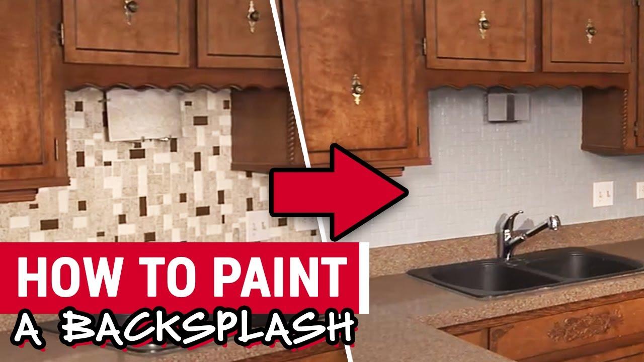 paint a backsplash ace hardware
