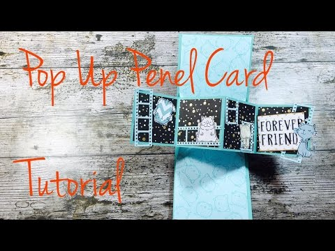 DIY **Pop Up Penel Card** [tutorial | deutsch]