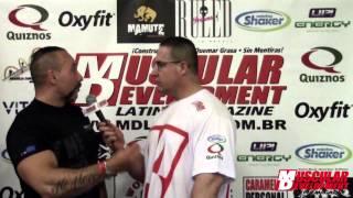 Entrevista Fernando Marques . Paulista IFBB 2014 - por Caramello Personal - MD LATINO TV
