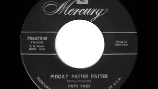 1955 HITS ARCHIVE: Piddly Patter Patter - Patti Page YouTube Videos