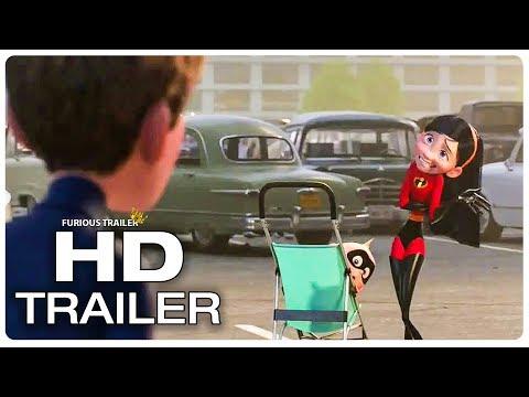 Incredibles 2 Violet Identity Revealed To Her Boyfriend Trailer (2018) Superhero Movie Trailer HD