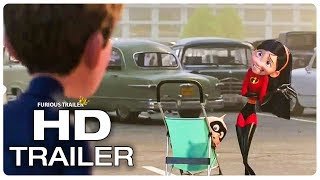 Incredibles 2 Violet Identity Revealed To Her Boyfriend Trailer (2018) Superhero Movie Trailer HD