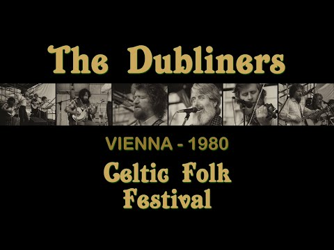 FULL CONCERT | The Dubliners with Luke Kelly & Ronnie Drew (Celtic Folk Festival - Vienna, 1980)