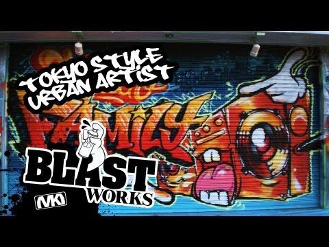 Tokyo Style Urban Artist - Blast Works - Shutter Serie 2