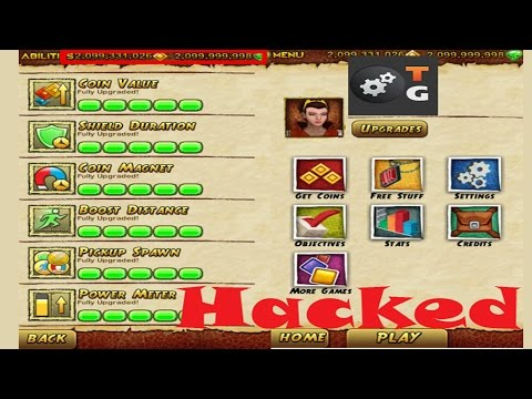 Temple Run 2 Unlimited Gems & Coins Hacking [NO ROOT] 2017