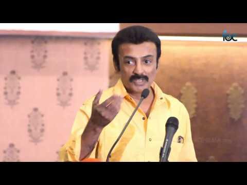 Actor Mohan at 11th Chennai International Film Festival Press Meet