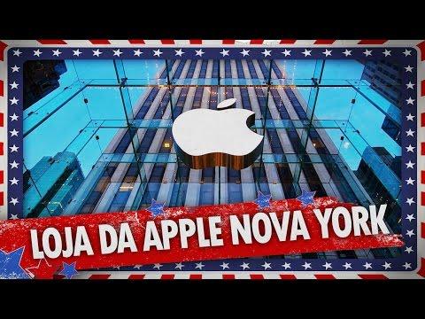 LOJA DA APPLE EM NOVA YORK - AVENTURAS EM NOVA YORK EXTRA