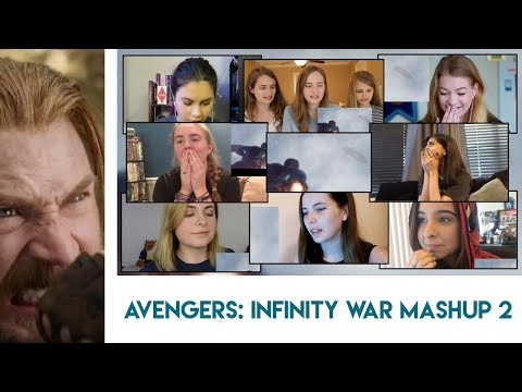 Avengers: Infinity War Trailer 2   Girls Reaction Mashup