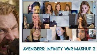 Avengers: Infinity War Trailer 2 | Girls Reaction Mashup