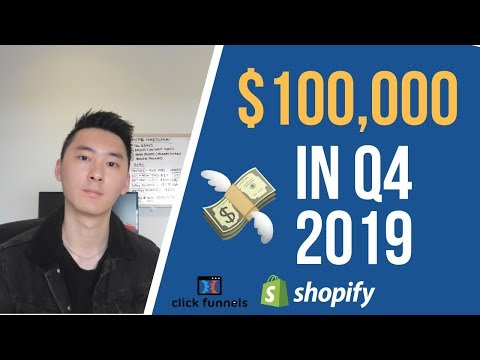 FASTEST Way To Make $100,000 This Q4 With Dropshipping & Ecommerce In 2019 thumbnail