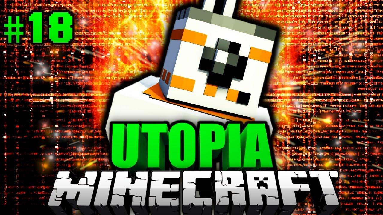 Der Knuffige Roboter Minecraft Utopia DeutschHd - Minecraft utopia spielen