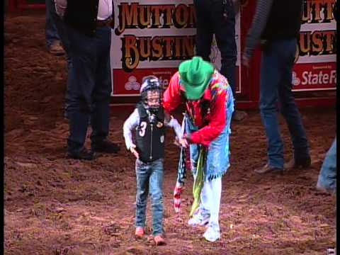 how to train for mutton bustin