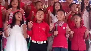 Karna cinta ( Grezia ephipania ) natal bharlind school kls 5A
