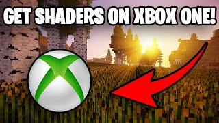 *NEW* How To Get Shaders On Minecraft Xbox One! (WORKING 2020)