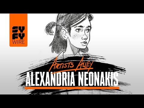 Last Of Us' Ellie Drawn By Alexandria Neonakis (Artists Alley) | SYFY WIRE