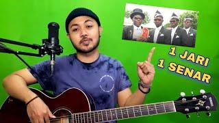 Download lagu Tutorial Melodi (COFFIN DANCE) cuman pake 1 JARI 1 SENAR (Guitar)