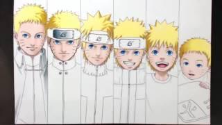 Speed Drawing All Naruto..(MAYARA)..