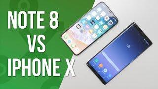 connectYoutube - Note 8 vs iPhone X: el GRAN DUELO por encima de los 1000 euros