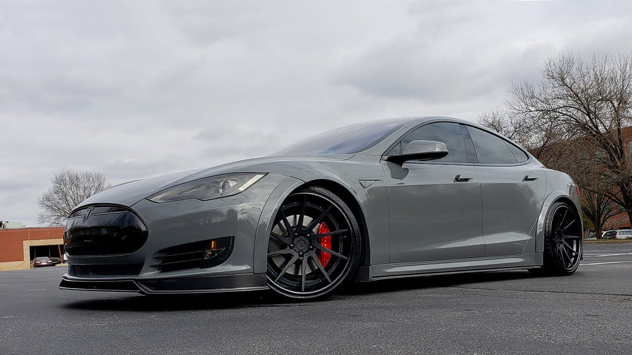 2015 Tesla Model S P90D Custom - For Sale - Formula One Imports Charlotte