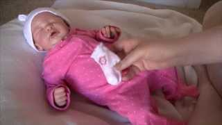 Day in the life of reborn baby Addie (without me in it)!