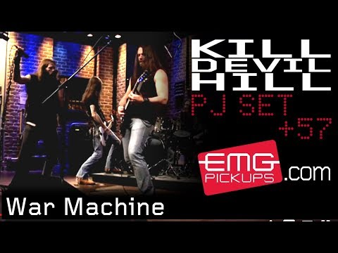 "Kill Devil Hill plays ""War Machine"" live on EMGtv"