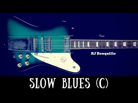 Super Slow Blues Jam | Sexy Guitar Backing Track (C)