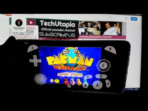 Playing Pac-Man World Rally On Android Smartphone/Gamecube Emulator Dolphin 5