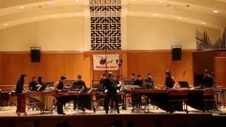 Umusic 2016 Annual Concert CPES performed Firefly Percussion Ensemble by  Nathan Daughtrey