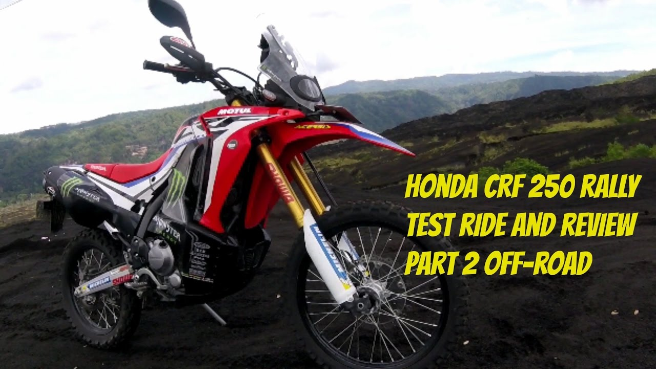 honda crf 250 rally test ride and review part 2 off road. Black Bedroom Furniture Sets. Home Design Ideas