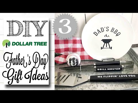 DIY Dollar Tree Father's Day Gifts | UNDER $5!