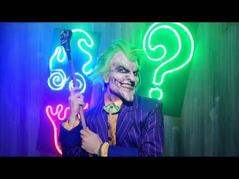 Joker's Arkham Asylum Maze at Warner Bros. Horror Made Here 2018