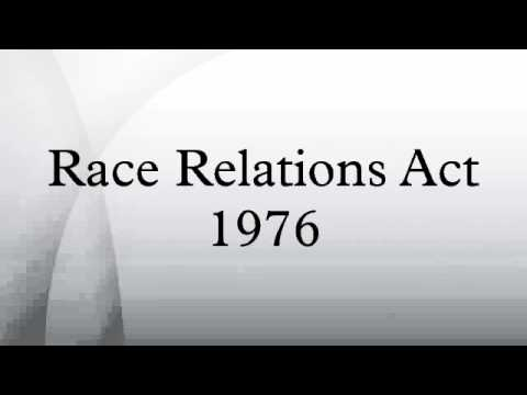 what is the race relations act 1992