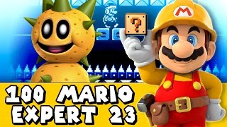 Super Mario Maker: Spike With Spikes On?! (Expert #23)