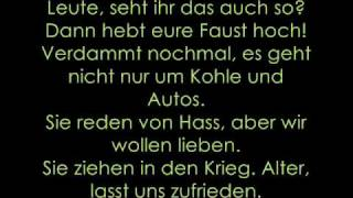 Fettes Brot - Automatikpistole (Lyrics)