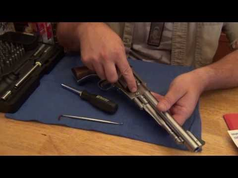 Complete Disassembly - Ruger Old Army Blackpowder