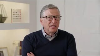 Bill Gates on Climate Crisis, Texas Freeze, Bezos Partnership