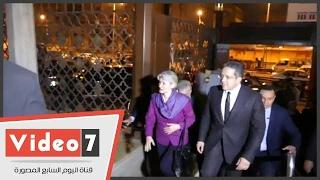 وزير الآثار يستقبل إيرينا بوكوفا فى متحف الفن الإسلامى