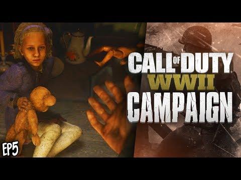 SAVING CIVILIANS! (Call Of Duty WW2 Campaign Walkthrough #5)