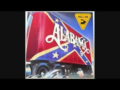 Roll On Eighteen Wheeler  Alabama Lyrics in Description