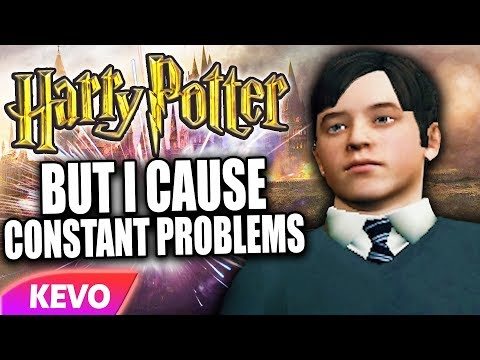 Harry Potter RP but I cause constant problems